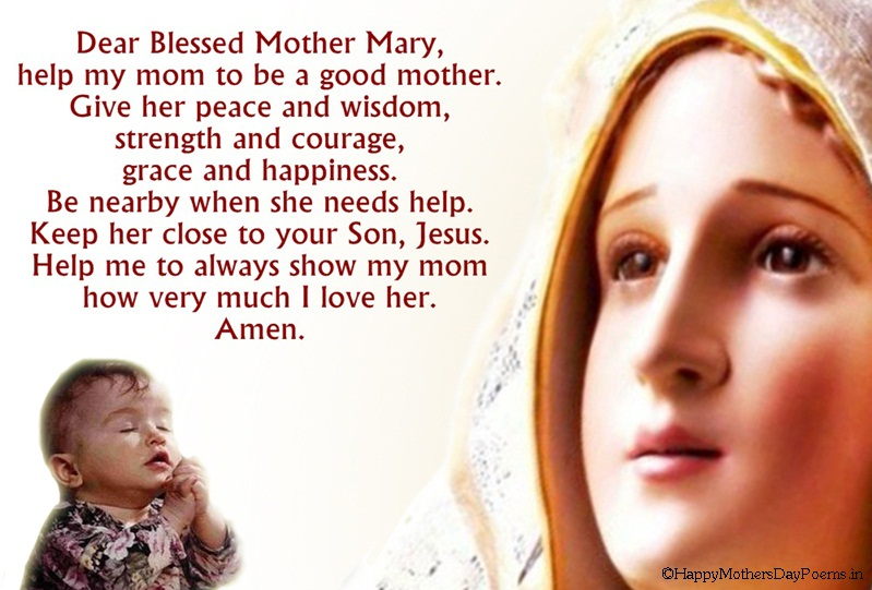 Prayers for Mothers Day